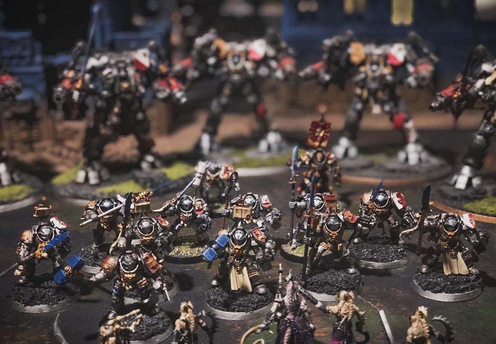 Warhammer 40K Space Marines Grey Knights Terminator Paladin Icons