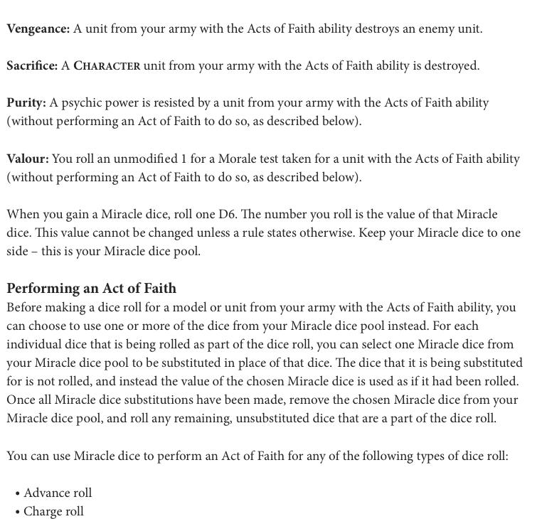 Codex Acts of Faith