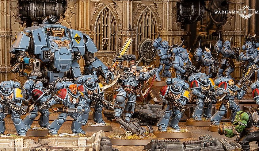 Saga of the Beast Preview: Space Wolves Initial Impressions