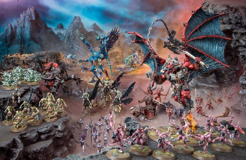 Engine War Preview: Chaos Daemons First Impressions