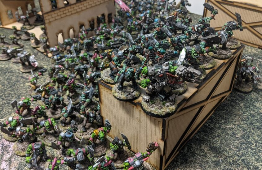 Morkish Cunning – Building A New Ork List: Feral Greentide