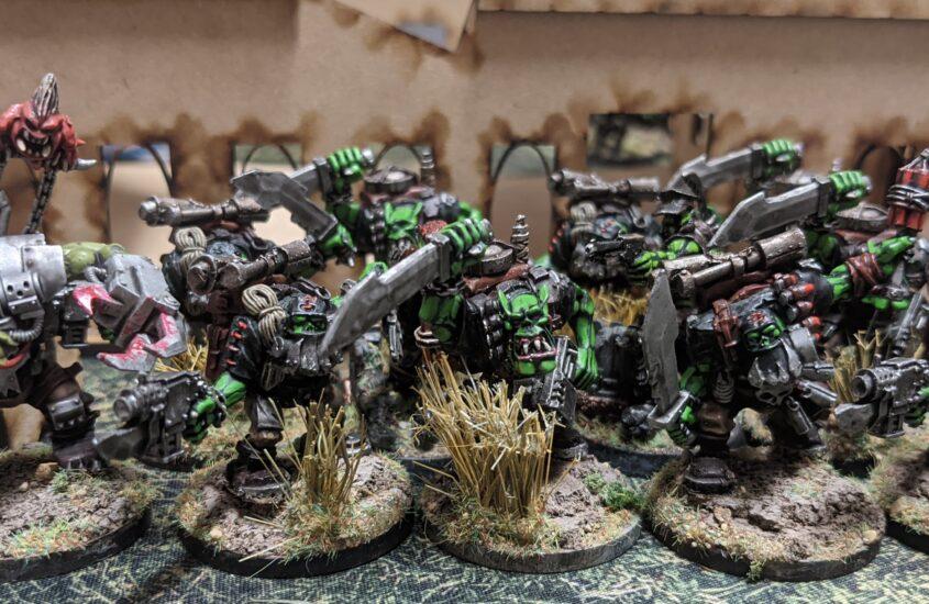 Morkish Cunning – Building A New Ork List: Blood Axe Kommandos