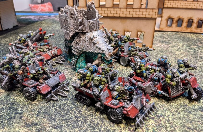 MORKISH CUNNING – BUILDING A NEW ORK LIST: Trukk Boyz
